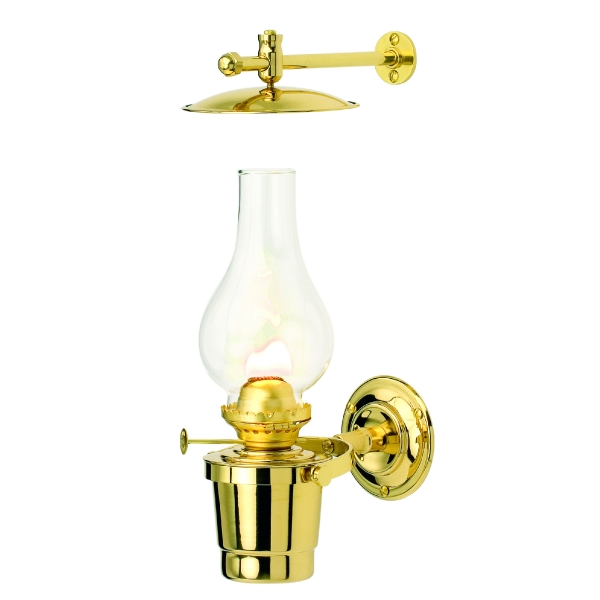 Wall Mounted Paraffin Lamps : Ships Lamps and Lanterns